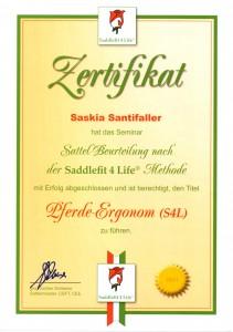 Zertifikat schlesse